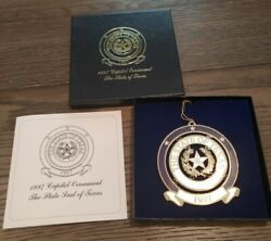 1997 Texas State Capitol Ornament - Texas Seal