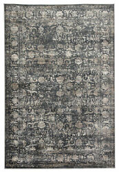 Jaipur Living Kachina Floral Blue/ Gray Area Rug 5and0393x7and0396