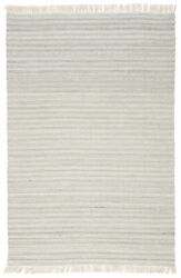 Jaipur Living Torre Indoor/ Outdoor Solid Light Gray/ Cream Area Rug 10and039x14and039