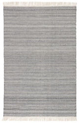 Jaipur Living Torre Indoor/ Outdoor Solid Gray/ Cream Area Rug 10and039x14and039