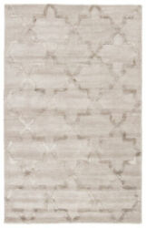 Jaipur Living Canton Handmade Trellis Silver/ Taupe Area Rug 12and039x15and039
