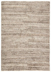 Jaipur Living Bengal Hand-knotted Solid Gray/ Ivory Area Rug 8and039x10and039