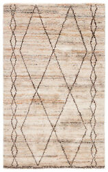 Jaipur Living Murano Hand-knotted Trellis Tan/ Brown Area Rug 8and039x10and039