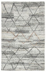Jaipur Living Kenzi Hand-knotted Trellis Gray/ Brown Area Rug 8and039x10and039