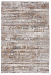 Jaipur Living Denman Abstract Gray/ Gold Area Rug 8and039x11and039