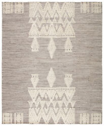 Jaipur Living Torsby Hand-knotted Tribal Gray/ Ivory Area Rug 8'x10'
