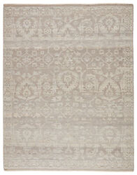 Jaipur Living Ayres Hand-knotted Floral Taupe/ Gray Area Rug 8and039x10and039