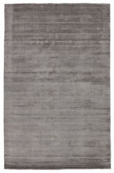 Jaipur Living Gradient Handwoven Solid Gray/ Silver Area Rug 9and039x12and039