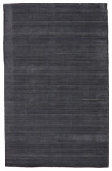 Jaipur Living Gradient Handwoven Solid Dark Blue/ Gray Area Rug 8and039x10and039