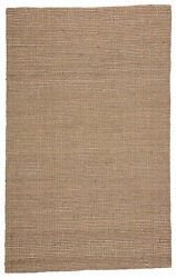 Jaipur Living Beech Natural Solid Tan/ Taupe Area Rug 9and039x12and039
