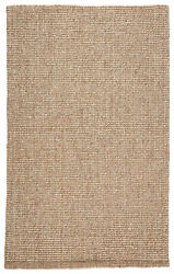 Jaipur Living Oceana Natural Solid Light Gray/ Tan Area Rug 8and039x10and039