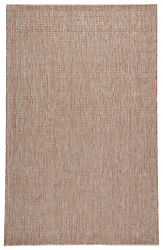 Jaipur Living Jardin Indoor/ Outdoor Solid Tan/ White Area Rug 10and039x14and039