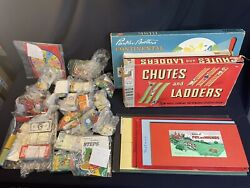 Huge Lot Of Vintage Board Games And Parts - 1950andrsquos And 1960andrsquos Games