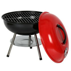 14 Portable Charcoal/barbeque Grill Outdoor Picnic/patio Mini Wood Bbq Grill