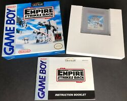 Star Wars Empire Strikes Back For Gameboy With Box And Instructions Game Boy