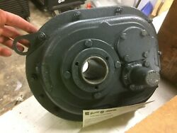 Browning 107smt25 Shaft Mounted Speed Reducer 25.84 Ratio Helical Gear