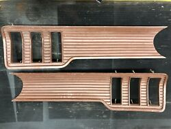 1967 Ford Mustang Oem Lower Back Panel Grille Rear Finned Coupe Convertible