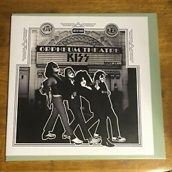 Kiss Orpheum Theatre Black Vinyl Lp Only 100 Copies Made Alive In 1975