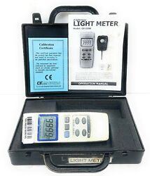 Lux Meter Lx-1008 Measuring Brightness And Light Intensity Of Theaters