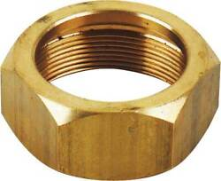 Model T Exhaust Pipe Pack Nut, Brass, 1909-1927 16-54552-1