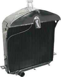 Model T Ford Radiator - Flat Tube Type - Low Style - Replacement Style - Usa