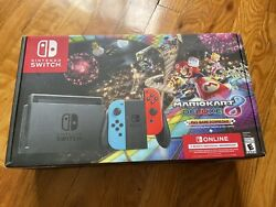 Nintendo Switch Mariokart 8 Deluxe Edition Console Plus 3 Month Membership