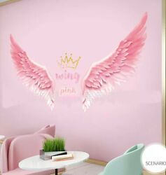 Removable Wall Decal Angel wings Sticker Art Home living Room Bedroom DIY Decor