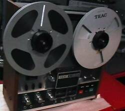 Teac A-3300s Reel-to-reel With Wood Panel. Fully Serviced. Uber Rare
