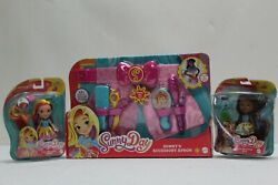 Nickelodeon Sunny Day Sunny's Accessory Apron And Pop-in Style Rox And Sunny Doll's.