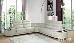 Cosmos Furniture Orchid Contemporary Sofa Sectional Living Room Set 5 Pieces