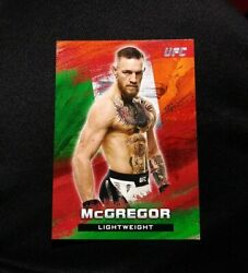 2020 Topps Ufc Conor Mcgregor Red Bloodlines Flag Parallel Ruby 6/8