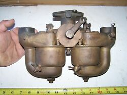 Kingston Dual Fuel 5-ball Avery Russell Tractor Brass 1 3/8 Carburetor Hit Miss