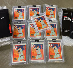 Topps Project 2020 Mike Trout 63 By Fucci W/box Anahiem Angels 10 Card Lot