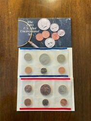 1989 Us Mint Uncirculated Coin Set P And D 10 Coins
