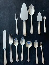 King Albert By Whiting Set For 6 With 7 Pieces Per Setting With Servers No Monoand039
