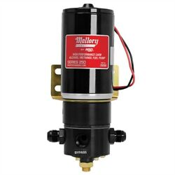 Mallory 29268 Racing Electric Fuel Pump 250 Gph Alcohol/methanol 3/4 In.-16 8an