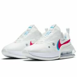 Nike Womenand039s Air Max Up Shoes Summit White Siren Red Blue Cw5346-100 New