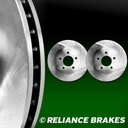 [2 Fronts] Hartbrakes Oe Replacement Disc Brake Rotors F2546