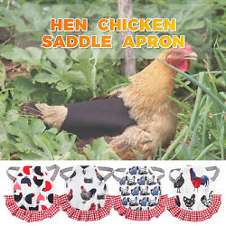supplies Comfortable Hens Clothes Pet Feather Protector Chicken Saddles