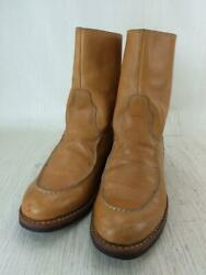 Other Brand Hand Made In North Beach Leather Brown Boots From Japan