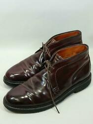 Alden Chukka Us8 Leather Brown Size Us8 Fashion Boots 6874 From Japan