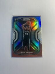 Devin Vassell 2020-21 Panini Prizm Red White Blue Prizm Rookie Card Rc 252 Spurs