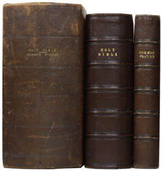 Holy Bible Containing The Old And New Testaments And The Book Of Common Prayer
