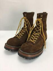 White's Boots Sumokujanpa 375ltt-v Sole Us9 Suede Brown Size Us9 Boots