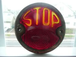 Antique 1920s-30s Auto Model T A Rear Stop Tail Light Lamp Exc