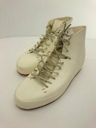 Feit Leather Lace-up Ivory 39 Ivory Size 39 Fashion Boots 153 From Japan
