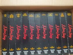I Love Lucy The Collector's Edition Lot Of 11 Vhs Format Tapes 1985 Lucille Ball