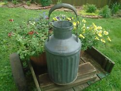 Vintage 5 Gallon Standard Oil Company Of California Can Embossed Metal
