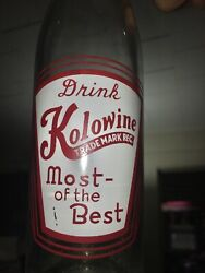 Rare Drink Kolowine Most Of The Best Cheerwine Bottle. Soda Sign