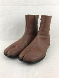 Maison Margiela 20ss 22 Tabi Short 40 Leather S57wu0134 Brown Size 40 Boots